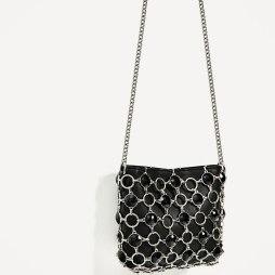 sac zara noir