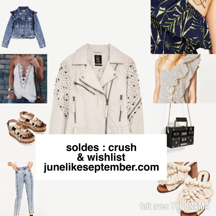SOLDES : CRUSH & WISHLIST